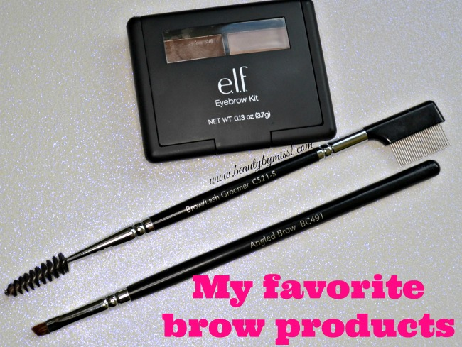 My favorite brow products