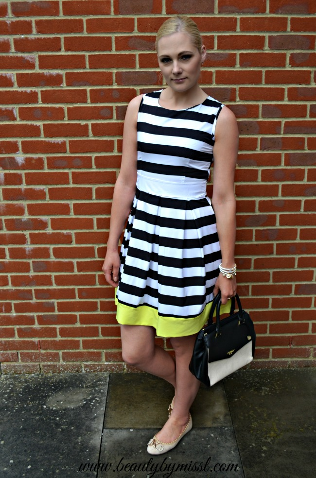 striped dress from Sheinside