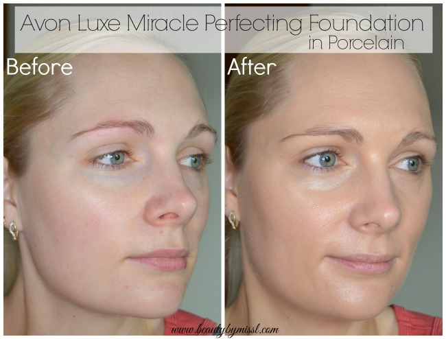 Avon Luxe Miracle Perfecting Foundation Porcelain