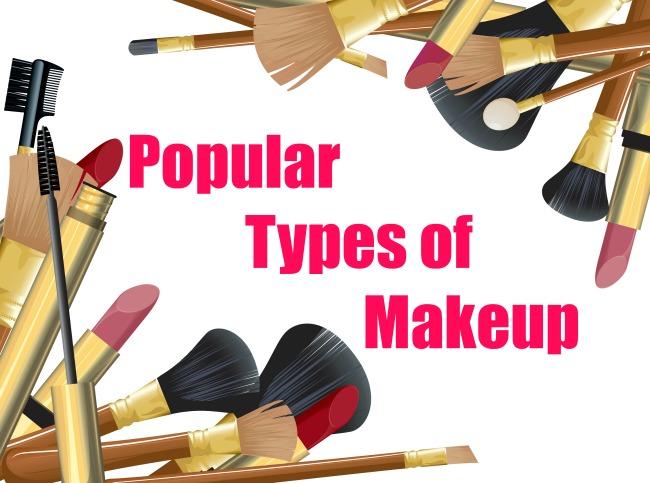 Popular Types of Makeup