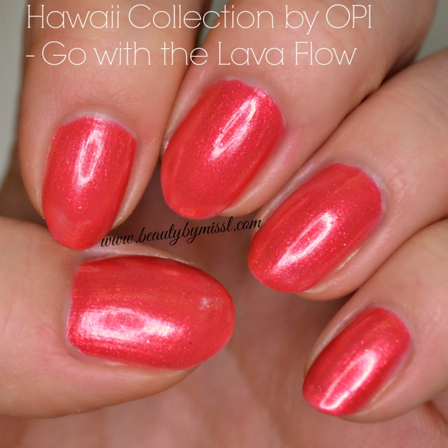 OPI Go with the Lava Flow