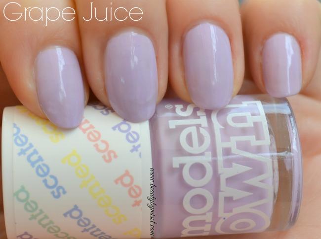 Models Own Fruit Pastels Grape Juice