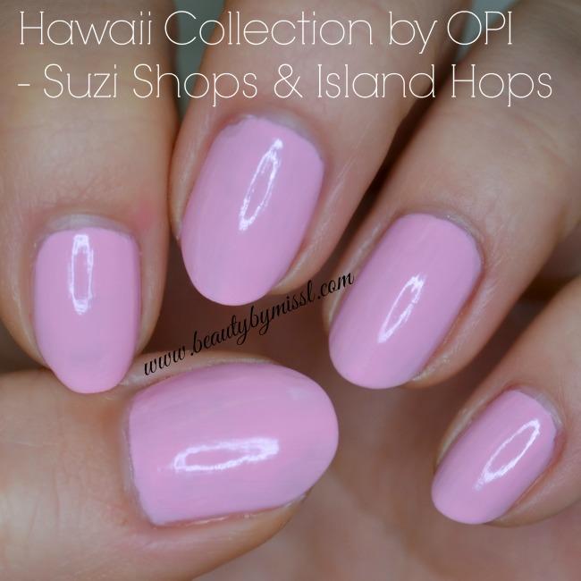 OPI Suzi Shops & Island Hops