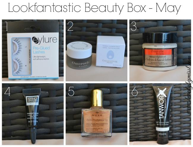 Lookfantastic Beauty Box May 2015