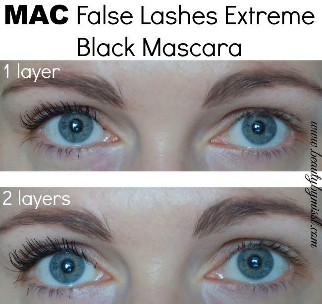 MAC False Lashes Extreme Black Mascara review