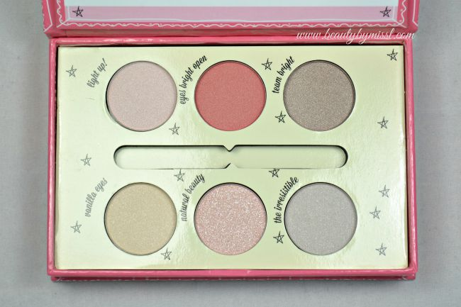 Essence How To Make Bright Eyes Make-Up Box contains 6 eye shadows | www.beautybymissl.com via @beautybymissl