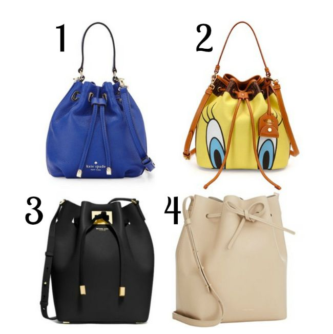 Must have bags for fall 2015 - bucket bags | www.beautybymissl.com