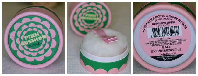 The Face Shop Lovely Mix Pastel Cushion Blusher