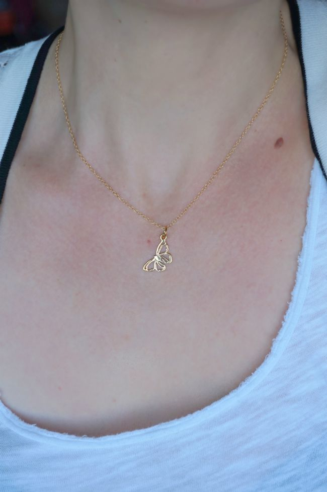 Lily Charmed necklace |www.beautybymissl.com