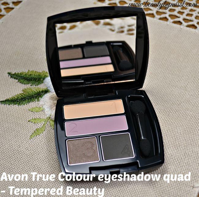 Avon True Colour Eyeshadow Quad - Tempered Beauty