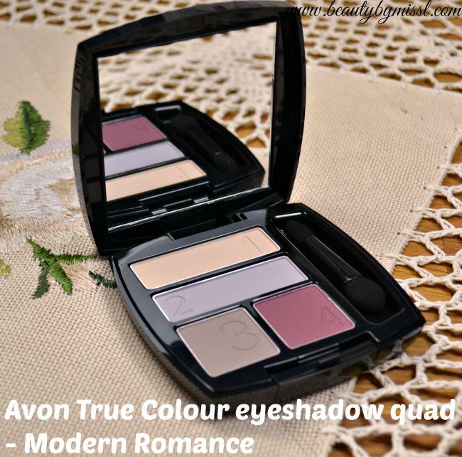 Avon True Colour Eyeshadow Quad - Modern Romance