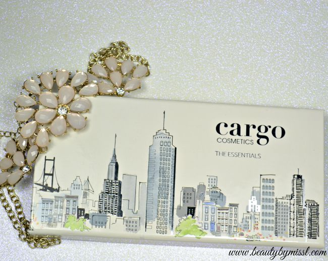 Cargo Cosmetics The Essentials Eye Shadow palette swatches and review | www.beautybymissl.com
