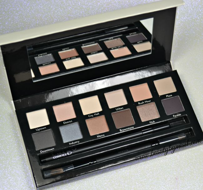 Cargo Cosmetics The Essentials Eye Shadow palette: 12 neutral eye shadows, dual ended brush and eye liner pencil | www.beautybymissl.com