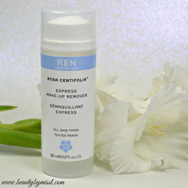 REN Rosa Centifolia Express Make-Up Remover review | www.beautybymissl.com