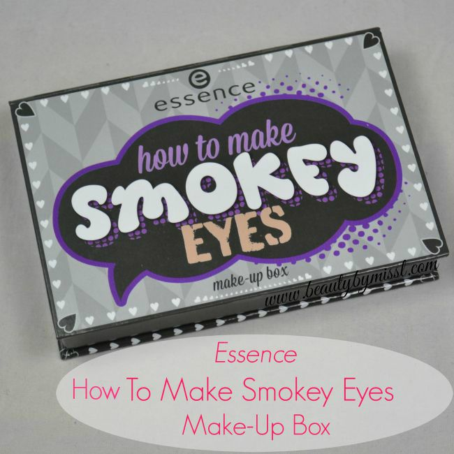 Essence How To Make Smokey Eyes Make-Up Box swatches and review | www.beautybymissl.com