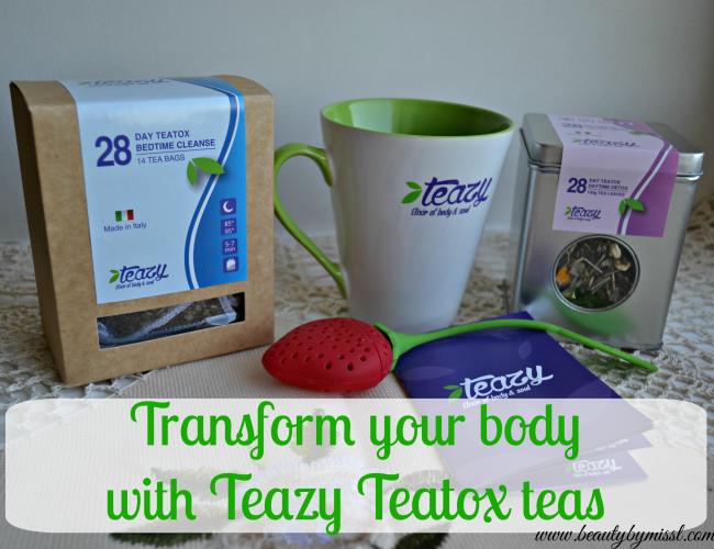Transform your body with Teazy Teatox teas