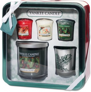 Yankee Candle Holiday Tin Gift Set