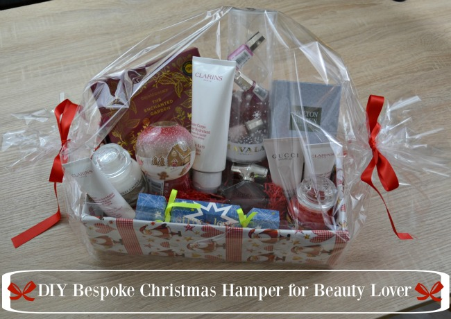 DIY Bespoke Christmas Hamper for Beauty Lover