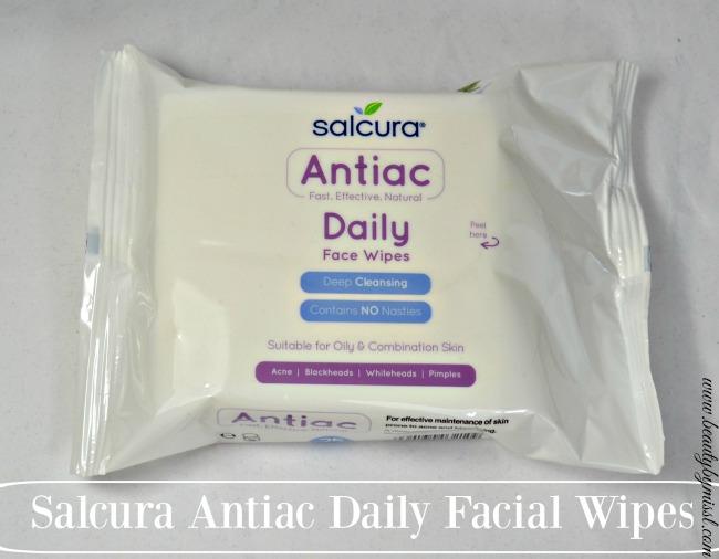 Salcura Antiac Daily Facial Wipes