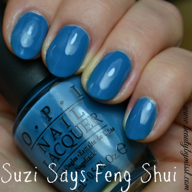 OPI Suzi Says Feng Shui swatches