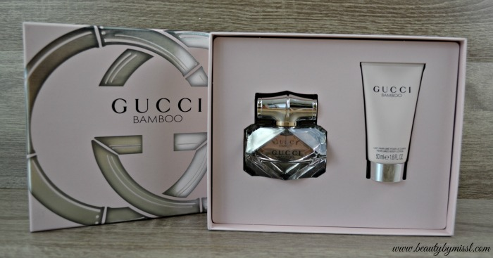 Gucci Bamboo Gift Set giveaway