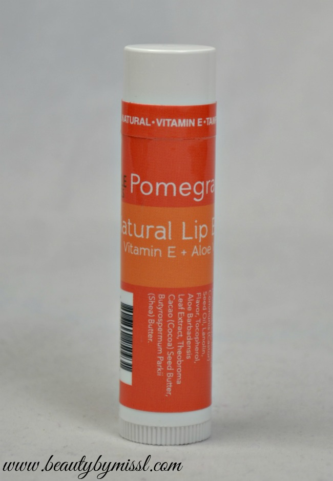 Maple Holistics Pomegranate Natural lip balm
