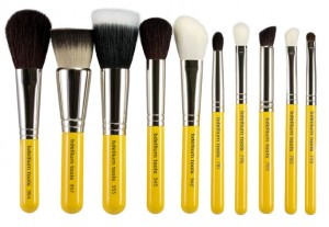 Bdellium Tools Studio Line Mineral Brush Set and Pouch (11 Pieces)