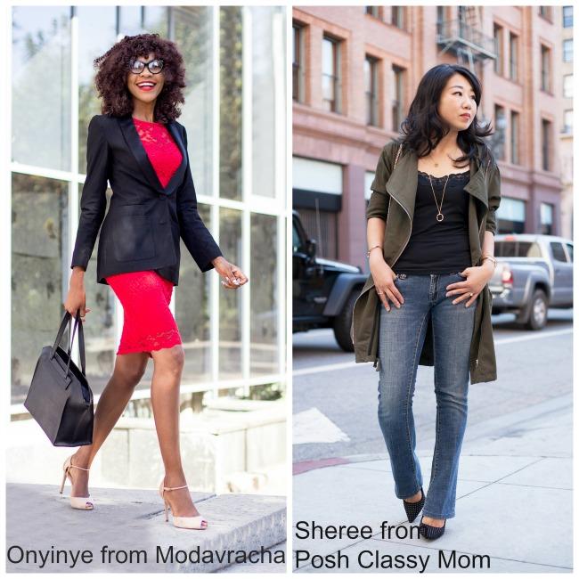 Onyinye from Modavracha and Sheree from Posh Classy Mom