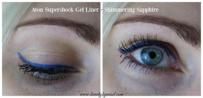 Avon Supershock Gel Liner - Shimmering Sapphire