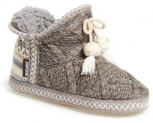Muks Luks 'Amira' Slipper Booties