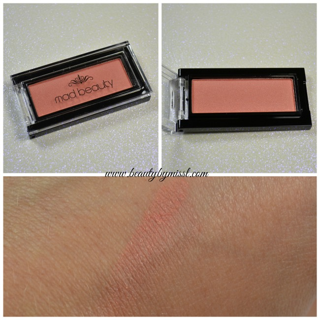 Mad Beauty Blusher swatch
