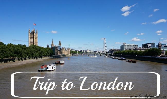 trip to london july 2015