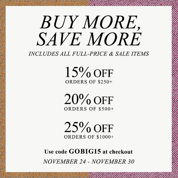 Buy More, Save More at Shopbop
