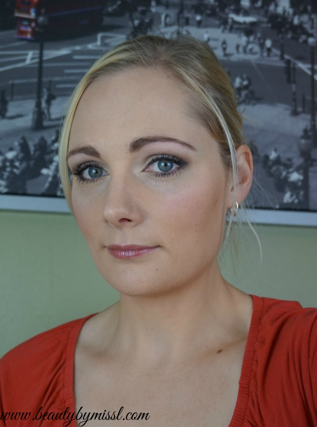 Makeup look with bareMinerals Enchanted Garden palette