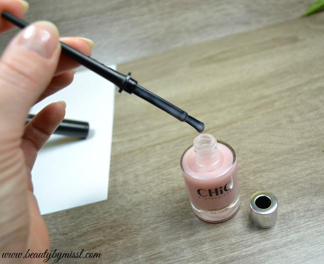 Chic Professional Long Lasting nail colour brush