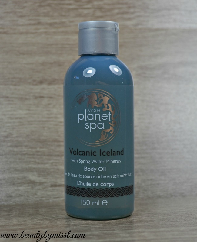 Avon Planet Spa Volcanic Iceland Body Oil