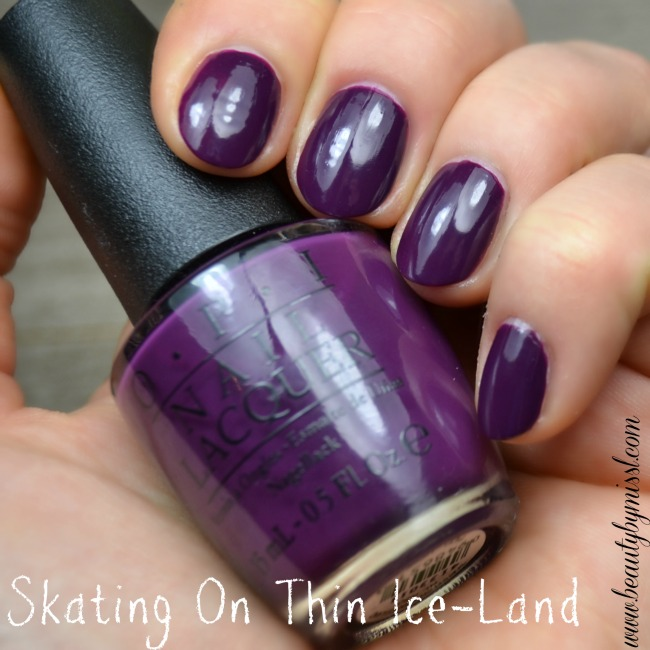 OPI Skating On Thin Ice-Land