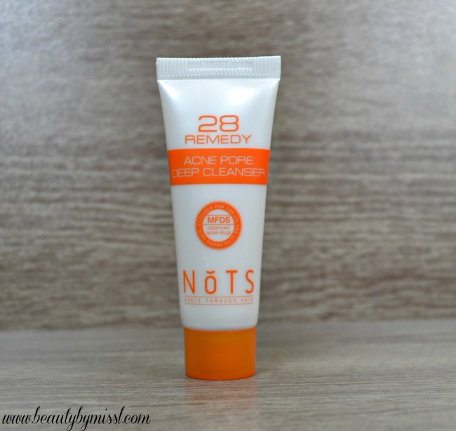 NoTS 28 Remedy Acne Pore Deep Cleanser
