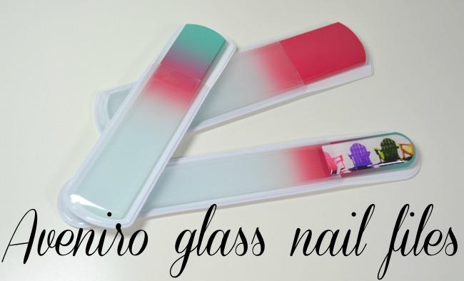 Aveniro glass nail files