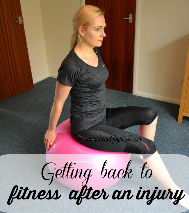 Getting back to fitness after an injury