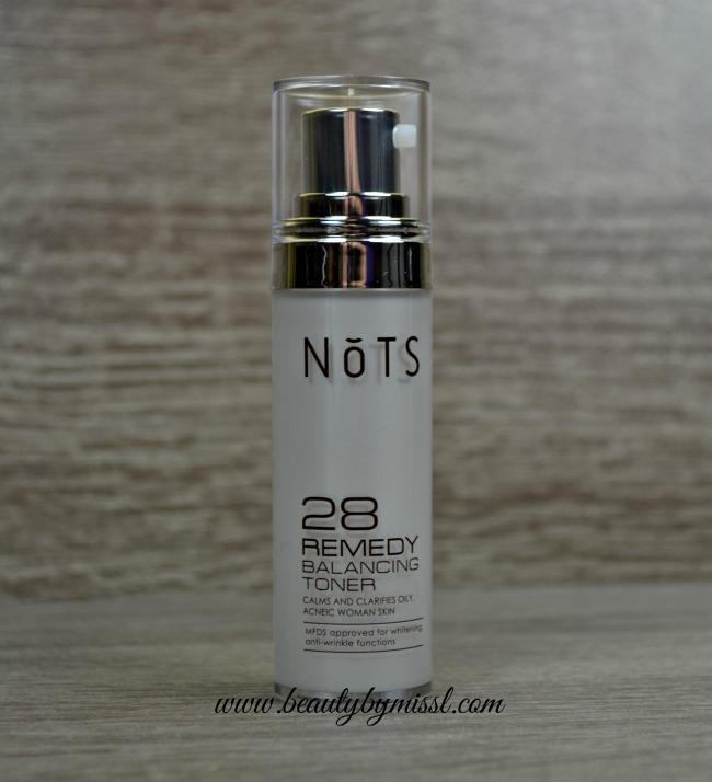 NoTS 28 Remedy Balancing Toner