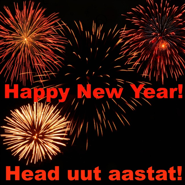 Happy New Year! Head uut aastat!