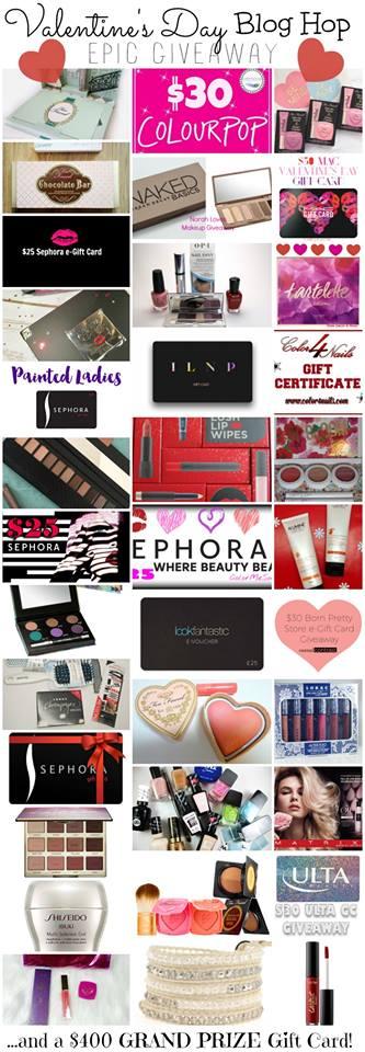 Valentine's Day blog hop giveaway!