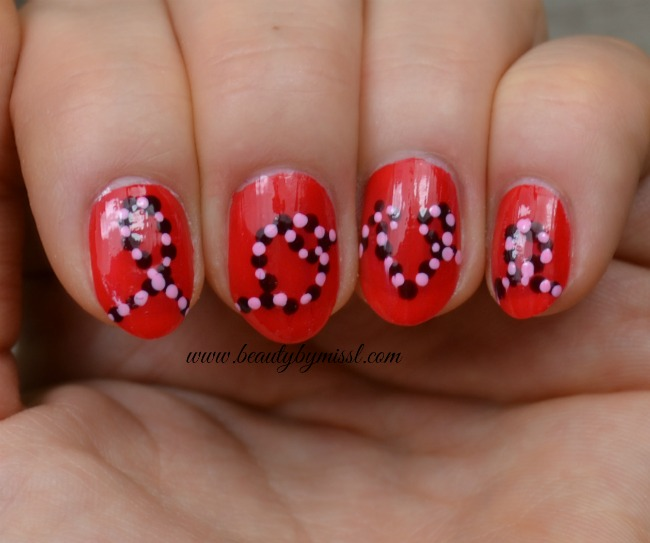 Valentine's Day nail art idea 3