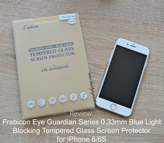 Frabicon Eye Guardian Series 0.33mm Blue Light Blocking Tempered Glass Screen Protector for iPhone 66S