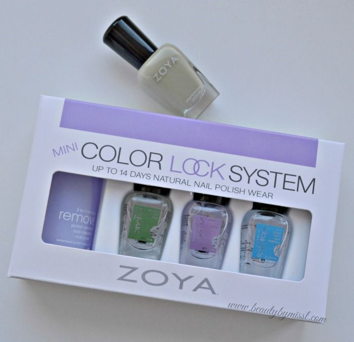 Make your nail polish last on nails longer with ZOYA Color Lock System