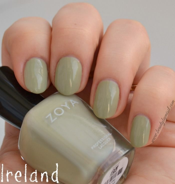 Zoya Ireland swatches