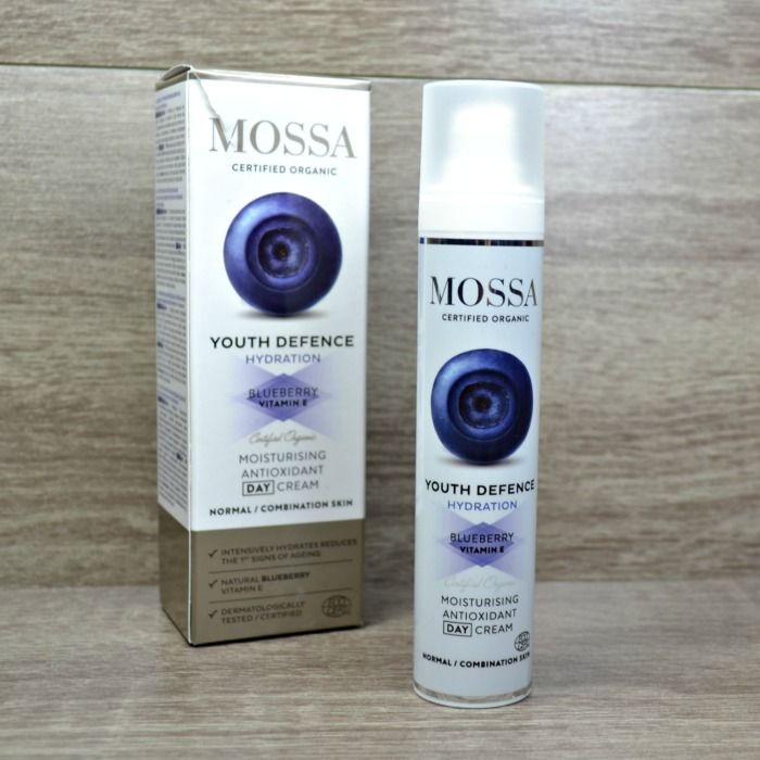 Mossa Youth Defence Moisturising Antioxidant Day Cream
