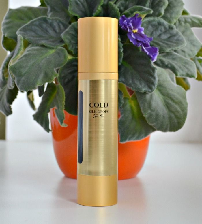 Gold Silk Drops