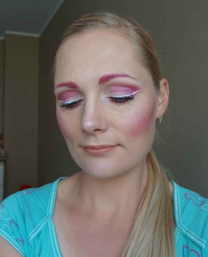 NYX Face Awards Baltics 2016 Pink makeup look